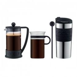 Set cafea French Press + cana & termos 350 ml K10948-01
